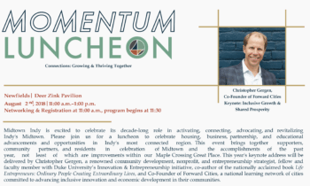 Midtown Momentum Luncheon: Info, Hype, Tickets, Sponsorship Opportunities