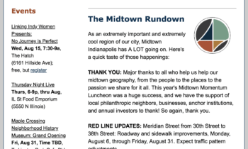 My Midtown News: August 6th – August 19th