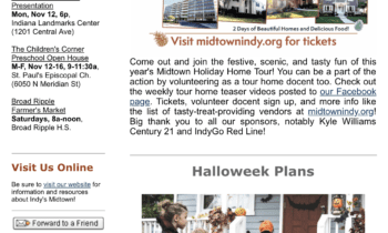 My Midtown News: October 29th – November 11th