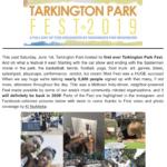 First Ever Tarkington Park Fest A HUGE Success!