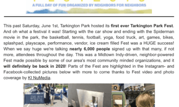 First Ever Tarkington Park Fest A HUGE Success!