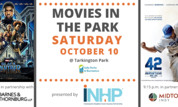 Movies in the Park presented by INHP: This Saturday, October 10