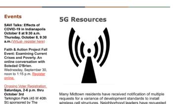 My Midtown News: September 21st- October 4th